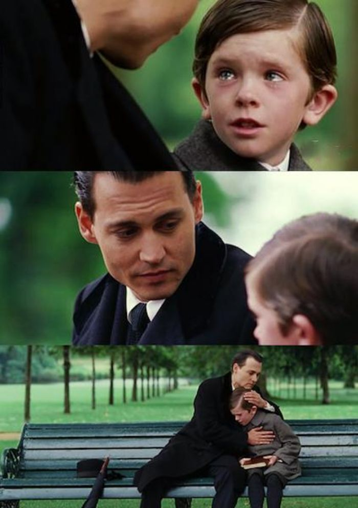 Finding Neverland Meme