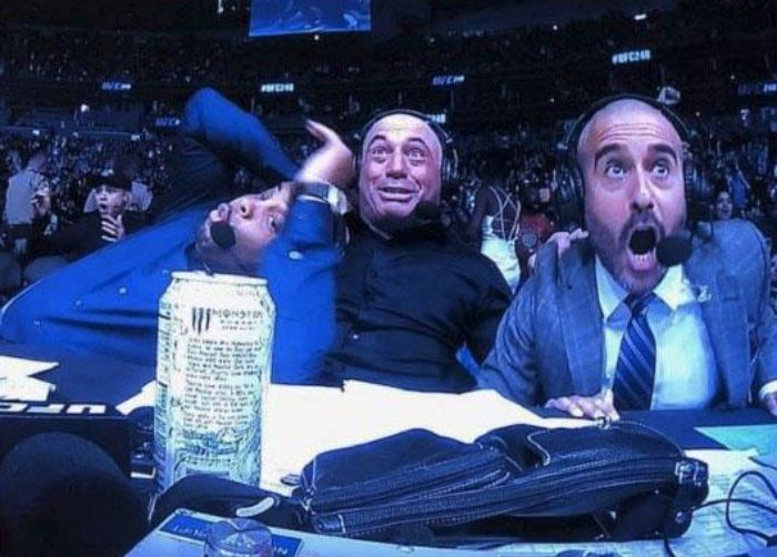 Joe Rogan Daniel Cormier And Jon Anik UFC 248 Reaction