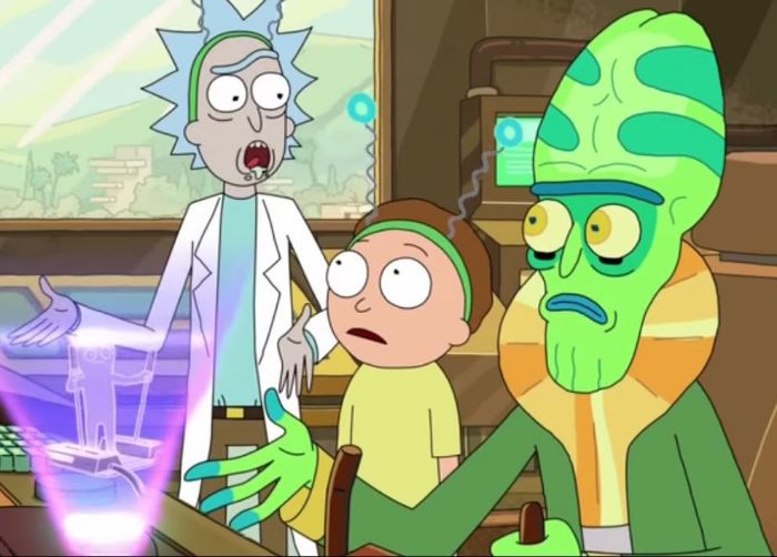 Rick And Morty Extra Steps