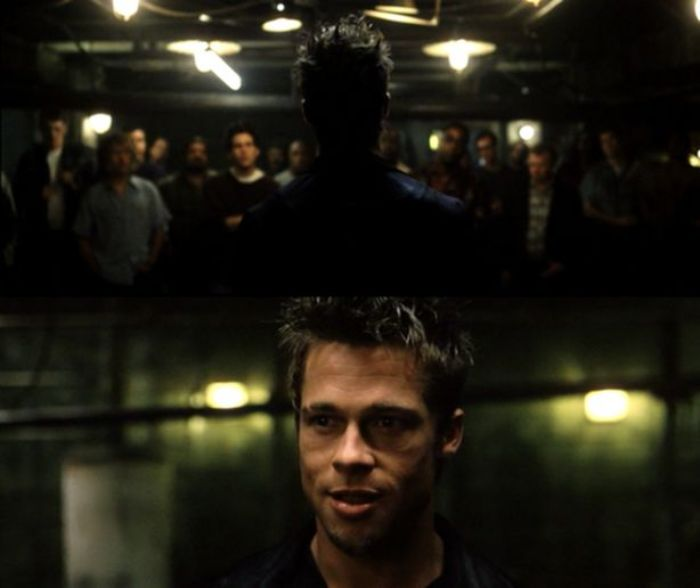 First Rule Of The Fight Club - Brad Pitt