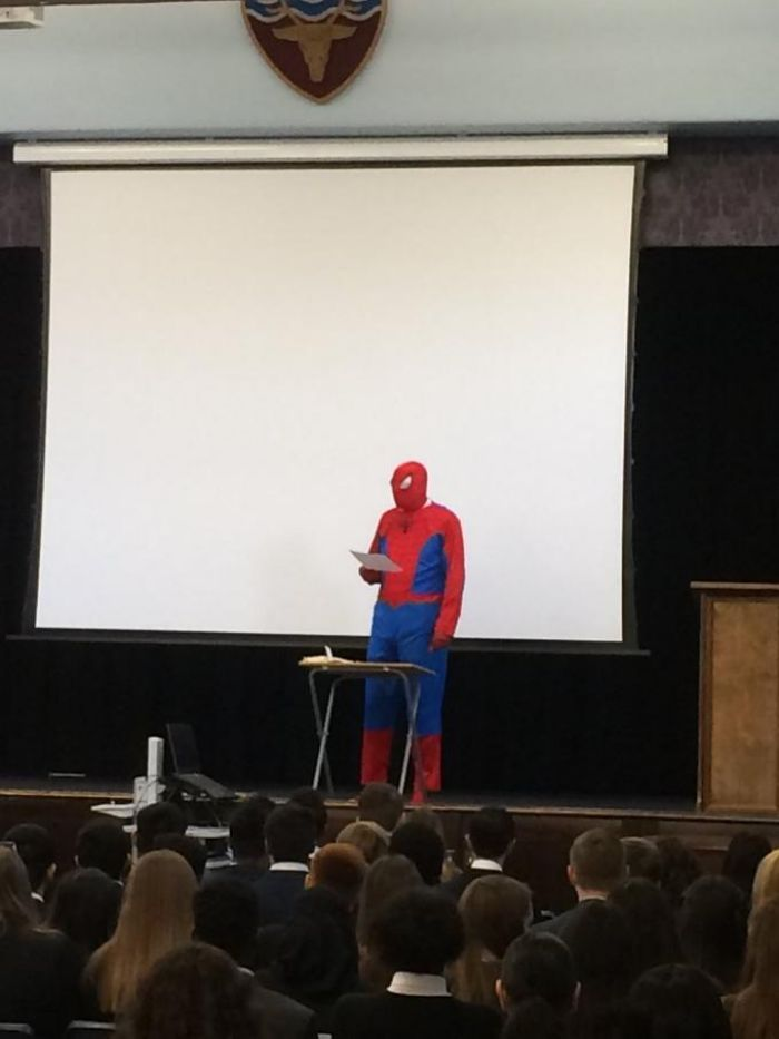Spiderman Presentation