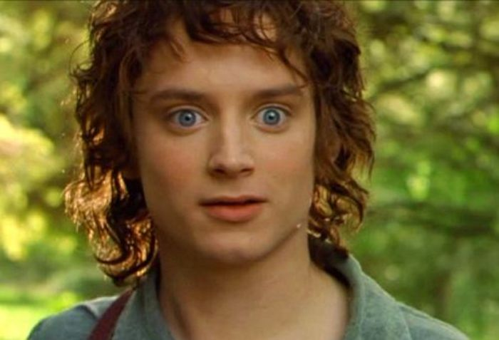 Surpised Frodo