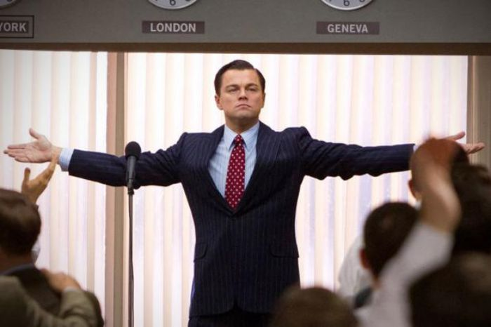 Wolf Of Wall Street Open Arms - Leonardo DiCaprio